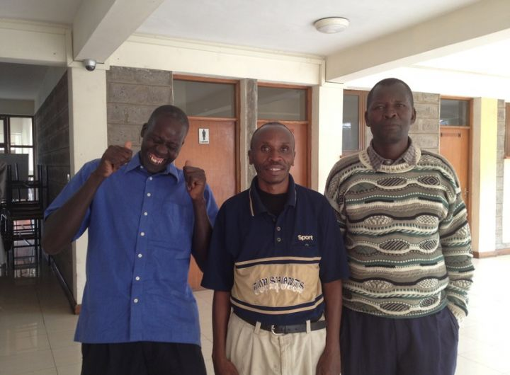 Dad's participated in Nairobi Triple P trial