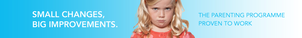 Pouting girl – Small changes, big improvements. The parenting programme proven to work.
